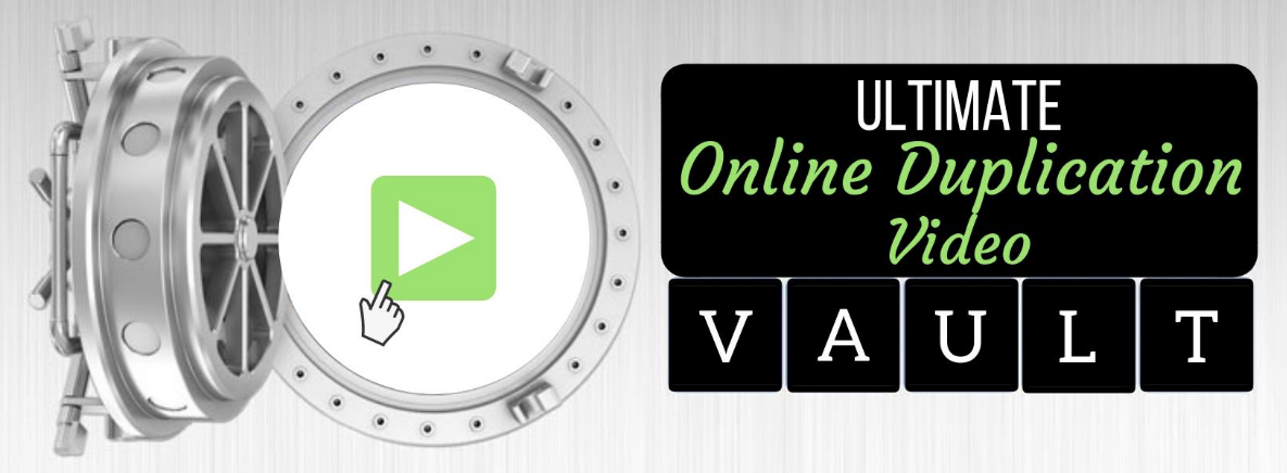 Online Duplication Video Library Vault